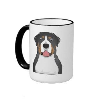 Greater Swiss Mountain Dog Cartoon Mug