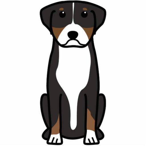 Greater Swiss Mountain Dog Cartoon Cut Outs
