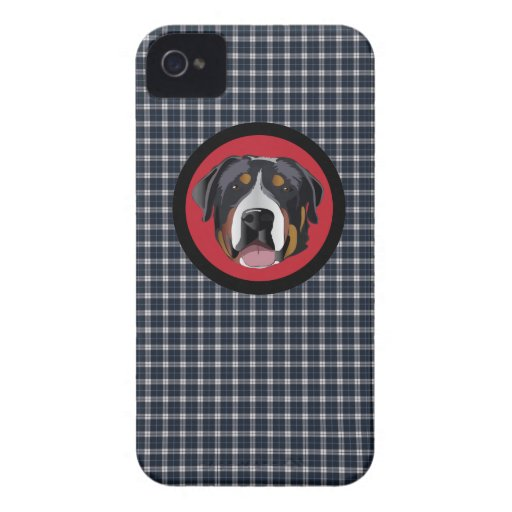 GREATER SWISS MOUNTAIN DOG BLACKBERRY BOLD COVER