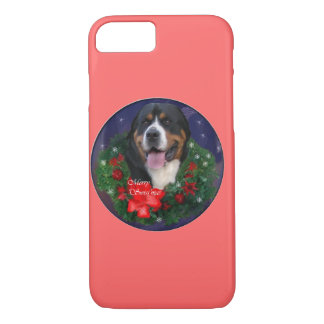 Greater Swiss Mountain Dog Christmas iPhone 7 Case