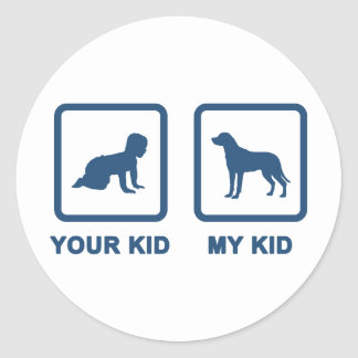 Greater Swiss Mountain Dog Classic Round Sticker