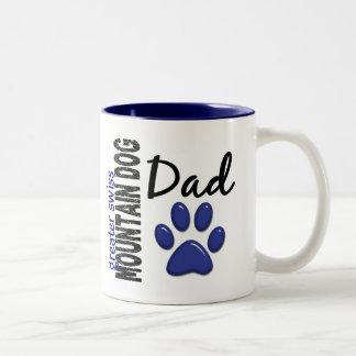 Greater Swiss Mountain Dog Dad 2 Two-Tone Mug