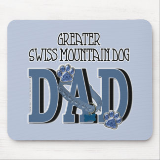Greater Swiss Mountain Dog DAD Mouse Pads