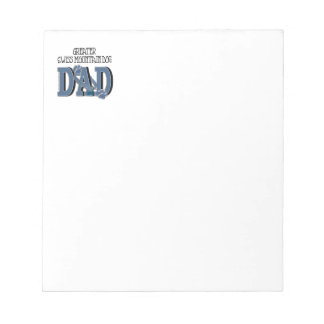 Greater Swiss Mountain Dog DAD Note Pads