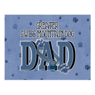 Greater Swiss Mountain Dog DAD Postcard