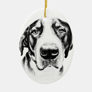 Greater Swiss Mountain Dog Christmas Ornaments