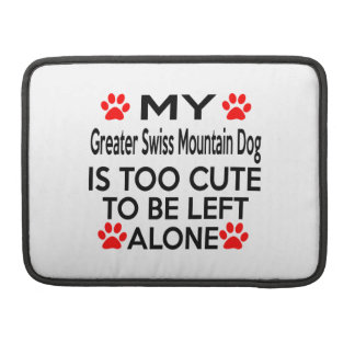 Greater Swiss Mountain Dog Designs MacBook Pro Sleeves