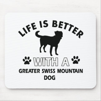 Greater Swiss Mountain Dog designs Mouse Pads