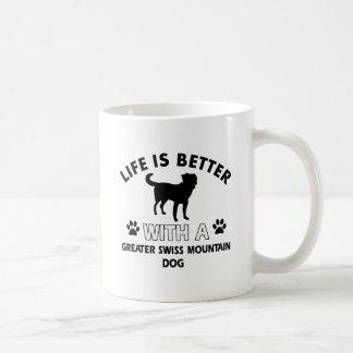 Greater Swiss Mountain Dog designs Coffee Mug