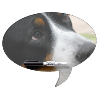 Greater Swiss Mountain Dog Dry Erase White Board