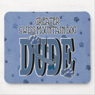 Greater Swiss Mountain Dog DUDE Mousepad