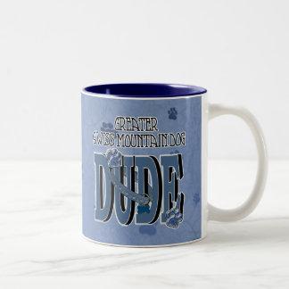 Greater Swiss Mountain Dog DUDE Coffee Mug