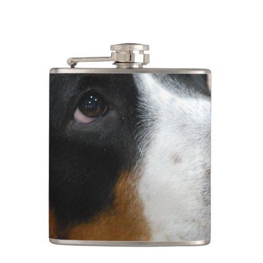 Greater Swiss Mountain Dog Hip Flasks