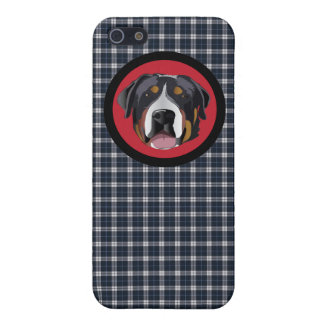 GREATER SWISS MOUNTAIN DOG iPhone 5/5S CASE