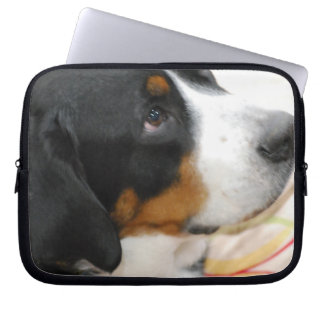 Greater Swiss Mountain Dog Laptop Sleeve