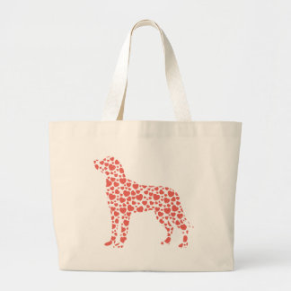 Greater Swiss Mountain Dog Large Tote Bag