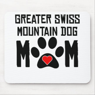 Greater Swiss Mountain Dog Mom Mouse Pads
