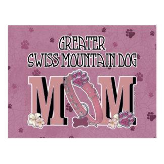 Greater Swiss Mountain Dog MOM Postcard