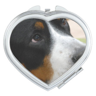 Greater Swiss Mountain Dog Compact Mirror