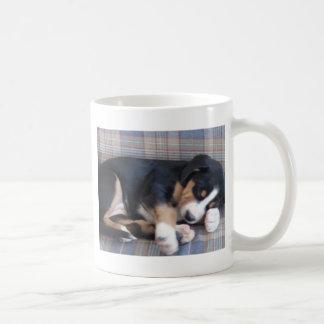 greater swiss mountain dog puppy coffee mug