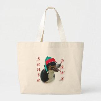 Greater Swiss Mountain Dog Santa Paws Tote Bag