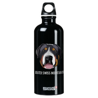 GREATER SWISS MOUNTAIN DOG SIGG TRAVELLER 0.6L WATER BOTTLE