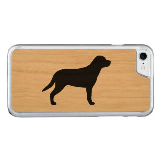 Greater Swiss Mountain Dog Silhouette Carved iPhone 8/7 Case
