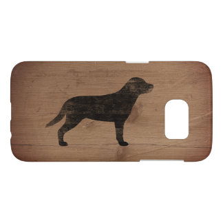 Greater Swiss Mountain Dog Silhouette Rustic