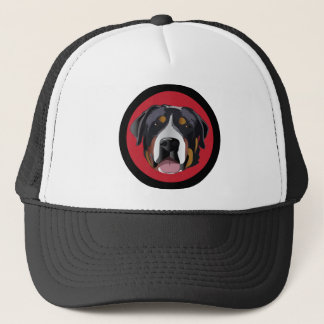 GREATER SWISS MOUNTAIN DOG TRUCKER HAT