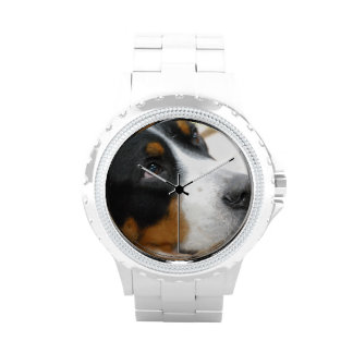 Greater Swiss Mountain Dog Wrist Watches