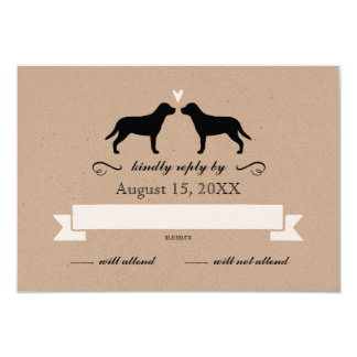 Greater Swiss Mountain Dogs Wedding RSVP Reply 9 Cm X 13 Cm Invitation Card