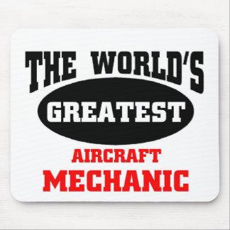 Greatest Aircraft Mechanic Mouse Mat