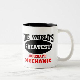 Greatest Aircraft Mechanic Mug