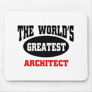 Greatest architect mouse pad