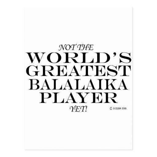 Greatest Balalaika Player Yet