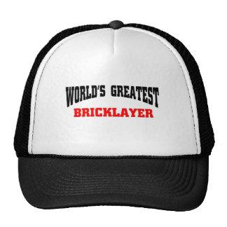 Greatest Bricklayer Cap