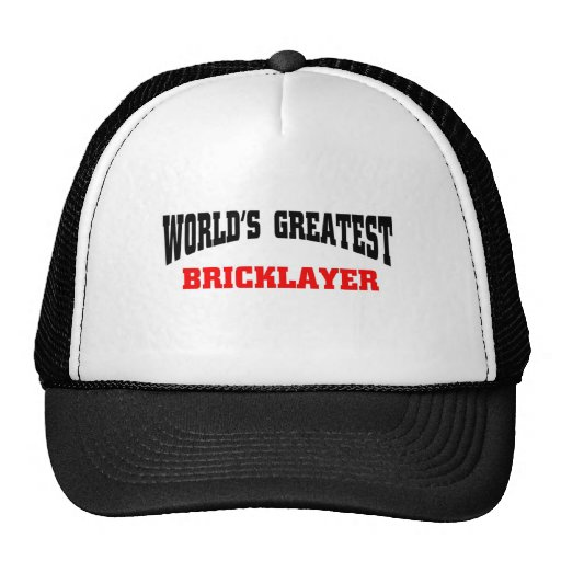 Greatest Bricklayer Hats