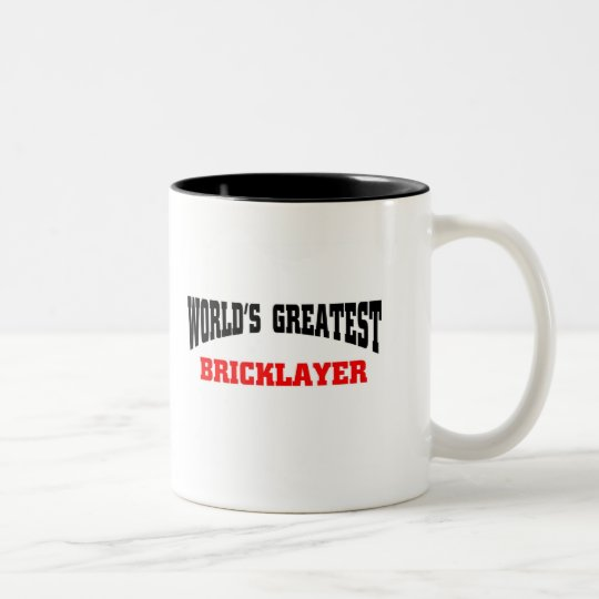 Greatest Bricklayer Two-Tone Coffee Mug