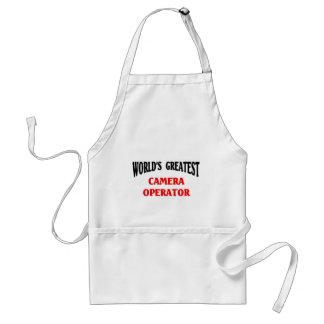 Greatest camera operator standard apron