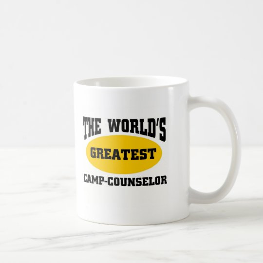 Greatest camp-counsellor coffee mug