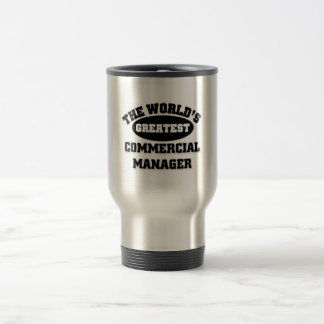 Greatest Commercial Manager Stainless Steel Travel Mug