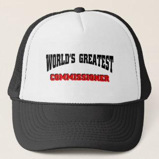 Greatest Commissioner Cap