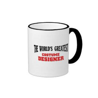 Greatest Costume Designer Ringer Mug