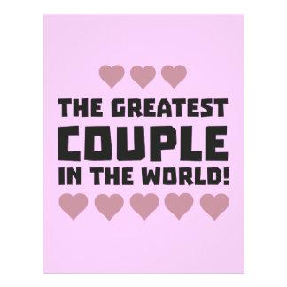 Greatest Couple Love Zg5qi 21.5 Cm X 28 Cm Flyer