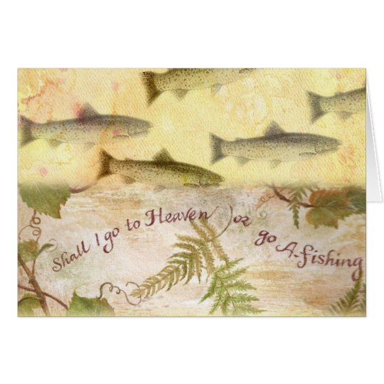 GREATEST DAD FATHERS DAY POEM FISHING GREETING CARD