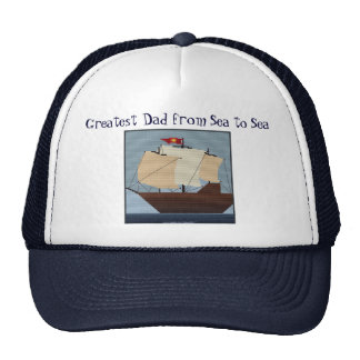 GREATEST DAD FROM SEA TO SEA CAP