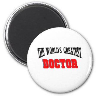 Greatest doctor fridge magnets