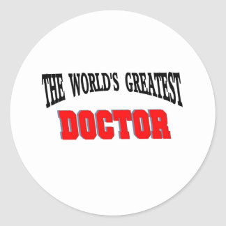 Greatest doctor stickers