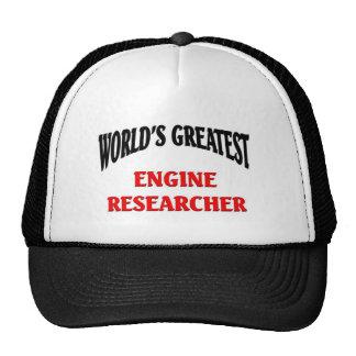 Greatest Engine Researcher Cap