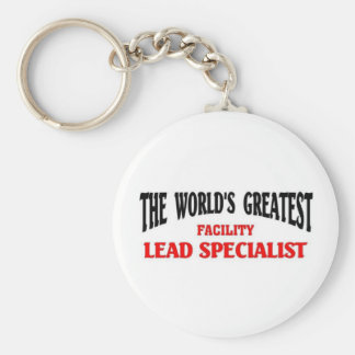 Greatest facility lead specialist keychains